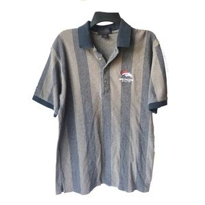 Antigua Denver Broncos Football Mens Polo Shirt